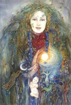 Helena Nelson-Reed Helena Nelson-Reed is an American art. Art Visionnaire, Sacred Feminine, Goddess Art, Mystique, Visionary Art, Totems, Illustrations, Gods And Goddesses, American Artists