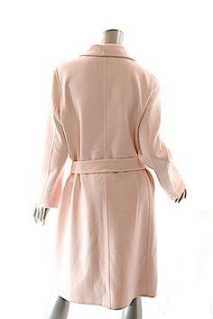 BCBGMAXAZRIA Max Mara Coat Pink Jacket Max Mara Coat 48a1ec90304