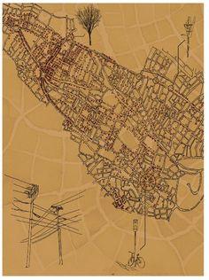 Emily Garfield's imaginary cartography