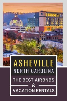Looking for awesome vacation rentals in Asheville, North Carolina? Here are the 12 BEST vacation rentals and Airbnbs in Asheville + the top things to do in Asheville to help you plan your North Carolina vacation! I where to stay in Asheville I accommodation in Asheville I Asheville accommodation I Airbnbs in North Carolina I accommodation in North Carolina I where to stay in North Carolina I places to stay in Asheville I North Carolina Airbnbs I places to stay in North Carolina I #USA…