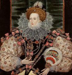 George Gower, portrait of Elizabeth I, c. 1588, variant of the Armada Portrait