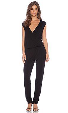 adda13b7e08f LA Made Abby Jumpsuit in Black Designer Jumpsuits