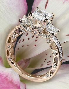 Princess cut diamond ring #princesscutring
