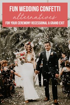 Fun Wedding Confetti Alternatives for Your Ceremony Recessional and Grand Exit Chic Vintage Brides, Vintage Wedding Photos, Funny Wedding Photos, Vintage Weddings, Wedding Recessional, Wedding Dj, Wedding Shot, Wedding Reception, Wedding Ideas