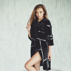 ace3cc950c154 Real beaver fur coat Fur jacket Fur coats for women Long coat Winter coat  Trench coat