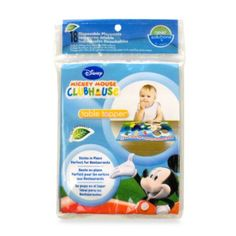Neat Solutions® 18-Count Disposable Table Toppers in Mickey Mouse - buybuyBaby.com