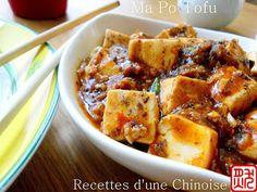 Recettes d'une Chinoise: Ma Po Tofu (ou Tofou) 麻婆豆腐 mápó dòufu