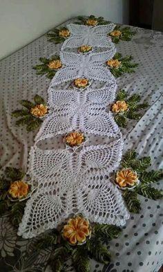 trilho de mesa flor de lótus f