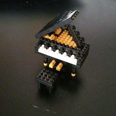 Finished☺ #nanoblock #piano