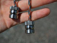 Beglery metallic evening bead fidget toy backpack 550 paracord