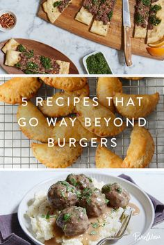 5 Recipes That Go Way Beyond Burgers via @PureWow
