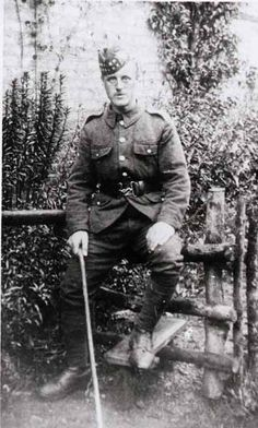 Near Edinburgh 1914: James Jamieson was a member of the Royal Scots. James was killed at the Somme on 1st July, 1916