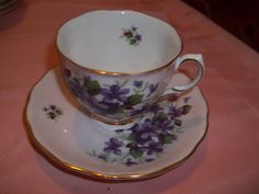 Vintage Colclough Bone China Tea cup & by CountryLadyClassics