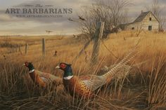 Memory Lane Pheasant by Jim Hautman Large31181338.jpg 750×501 pixels
