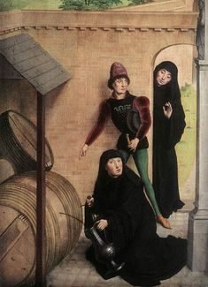 Simon Marmion. Scenes from the life of St Bertin. 1459