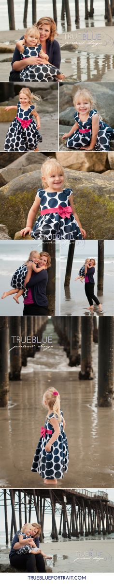 fun at the beach. family portraits by trueblueportrait.com