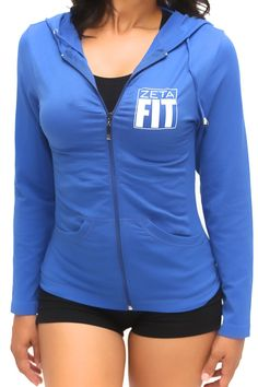 FIT Zeta Warm-Up track jacket, blue