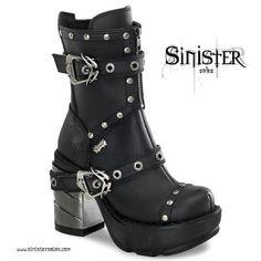 WAAAAANT!  http://www.demonia.co.uk/demonia-sinister-201-platform-black-matt-chunky-chrome-heel-ankle-boot.html