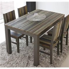 mueble ecologico Dining Table, Furniture, Google, Home Decor, Wooden Pallet Furniture, House Decorations, Houses, Home, Dining Rooms