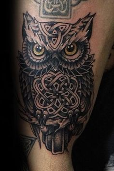 One of the best ways to show off your love for all things Celtic is to get a Celtic owl tattoo for men tattooed onto your body. This will look very classy and classic and will be a good conversation starter when other people notice the tattoo.The Celtic tradition is one that is very illustrious and historic. #nextluxury #tattooideas #tattoodesigns