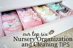Nesting 101 - Top Nursery Organization and Cleaning Tips | Project Nursery