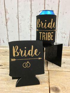 Bride Tribe - Bulk Beer Can Cooler - Sold in Sets of 5