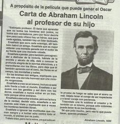 Carta a Abraham Lincoln Abraham Lincoln, Life Motivation, Life Lessons, Wise Words, Einstein, Quotations, Life Quotes, Magic Quotes, Son Quotes