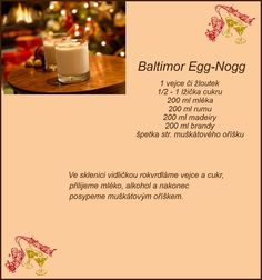 (168) Doručené – Seznam Email Christmas Candy, Christmas Baking, Smoothies, Food And Drink, Eggs, Homemade, Drinks, Sweet, Recipes