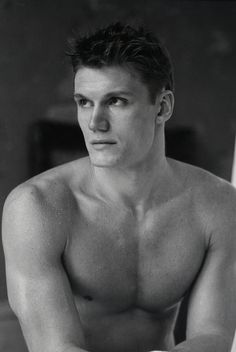 Dolph Lundgren, circa a long time ago.  Swedish, check.  Genius, check.  Looks a little like my husband, check.