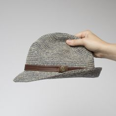 4017cccf41807 Laying Low Cotton Fedora Hat