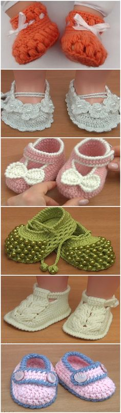 6 Best designs for baby shoes