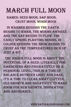 Moon:  #Full #Moon ~ March.