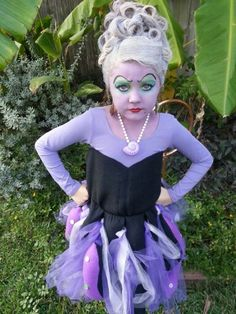 Ursula kids costume