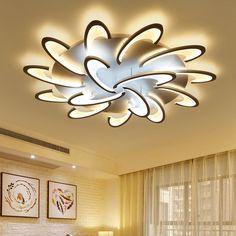 EuIgnis 110 220v Ceiling Lights Luces Led Para Casas Luminaria Teto Home  Lighting Ceiling Moderne Deckenleuchte