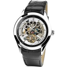 Vous recherchez une montre automatique ? Découvrez notre large sélection pour homme ou femme.  Pierre Lannier - 314A123 - Montre Homme - Automatique Analogique - Cadran Blanc- Bracelet Cuir Noir de Pierre Lannier, http://www.amazon.fr/dp/B007KX8L42/ref=cm_sw_r_pi_dp_s05Erb0828AAC
