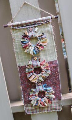 Forest Panel-Makower Wallhanging Couette Lit Craft Panel-Tissu de coton