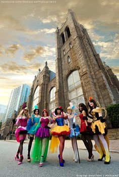 Burlesque Disney princesses cosplay. I absolutely want everyone of These.