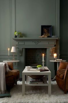 Sage Green By The Little Greene paint.. Love this color! It will be ...