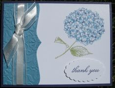 beautiful card using the best of flowers stamp set