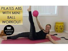 Pilates ABS with Mini Ball Workout - YouTube