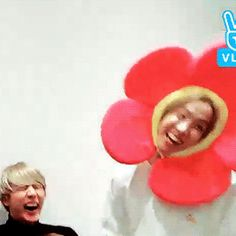 Both beauty of a flower and sunshine