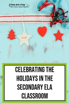 Middle School English Language Arts Teachers - enjoy the holidays by helping students think about others instead of themselves. Learn about fantastic ideas from other ELA teachers on how they celebrate the holiday season with their students while keeping a focus on the meaning of the season - giving not getting from 2 Peas and a Dog. Middle School Writing, Middle School English, Reading Lessons, Writing Lessons, Elementary Teaching, Upper Elementary, English Language, Language Arts, High School Activities