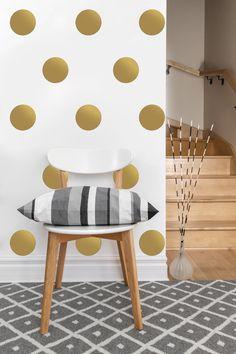 Circle Pattern  Vinyl Wall Sticker  Decal Art  Set by EyvalDecal