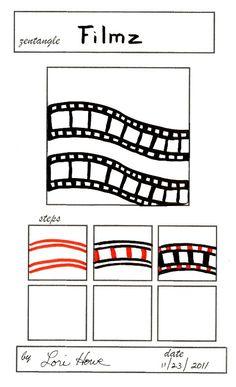 #Filmz #zentangle ...... Flickr - Photo Sharing!