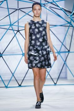 The Best of New York Fashion Week Spring 2016 - Suno Spring 2016-Wmag