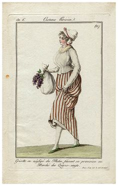 Nr 33  1797 - morning dress on the way to marketing