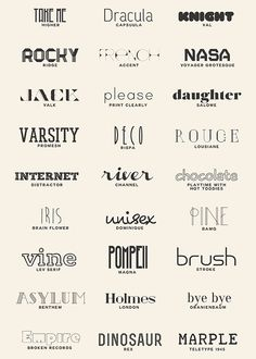 More favorite fonts (a resource list)