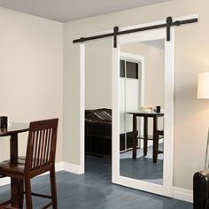 Casa Design & Decor 78102B Rustic Barn Door Hardware Kit