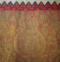 διακοσμητικά σχέδια | greek culture/ελληνικός πολιτισμός Gold Work, Hand Embroidery, Folk Art, Bohemian Rug, Greece, Weaving, Traditional, Rugs, Greek Costumes