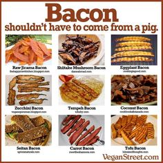 Although I disagree, (regular bacon is awesome,) it is easy to present, try, & often enjoy a healthier-option.